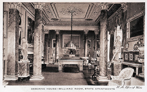 Osborne House Billiard Room