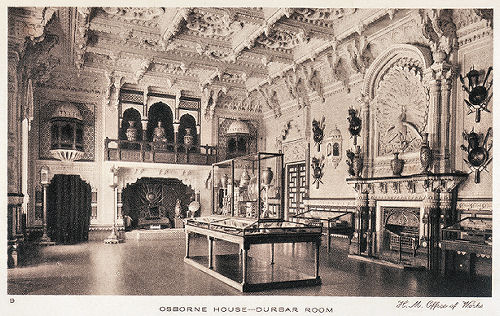 osborne house durbar room