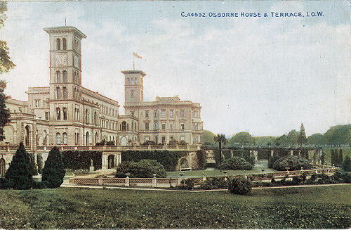 Osborne House and Terrace