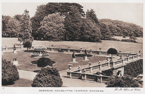Osborne House Terrace and Garden