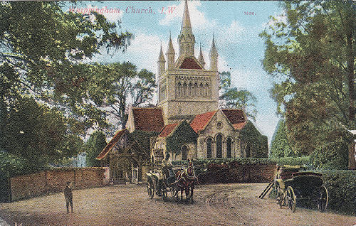 Whippingham church 1900
