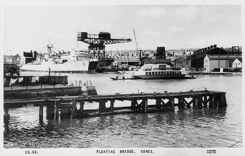 industrial cowes and the floating bridge